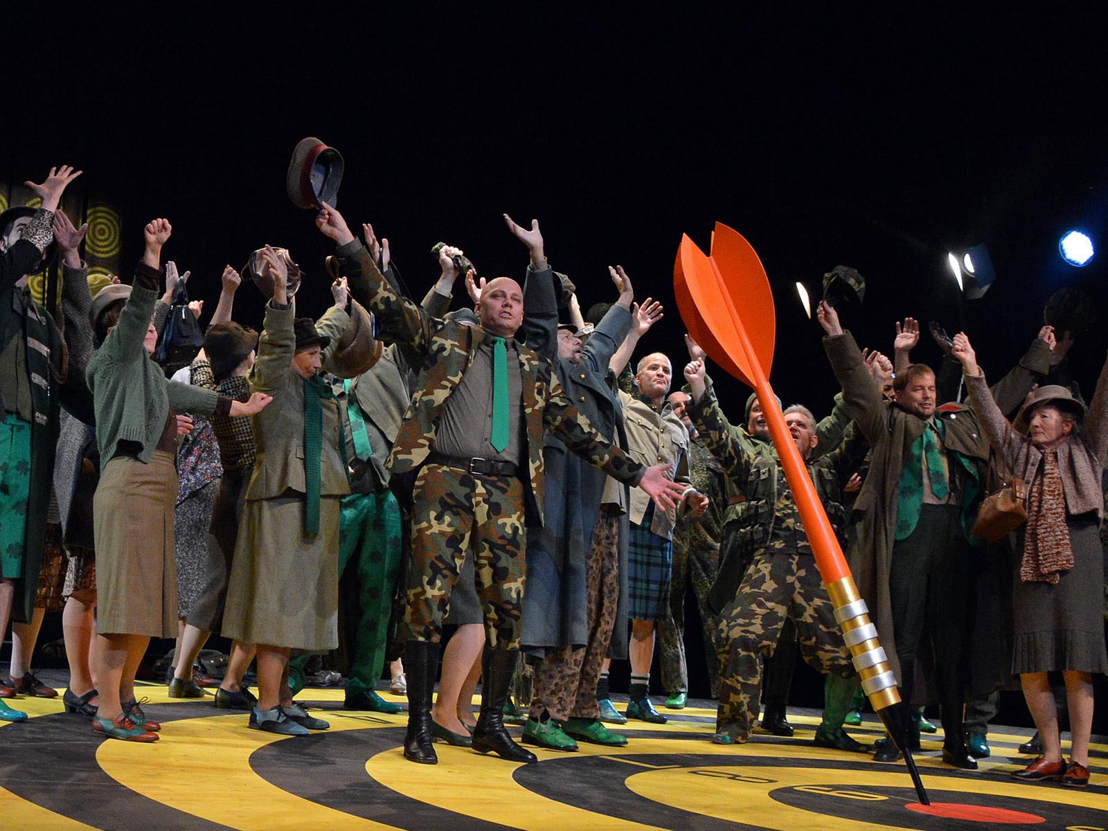 La Fille du Regiment-Die Regimentstochter-Kostuembildner-Bernhard Duss-Costuemdesign-Kostuembild-Oper-Ausstattung