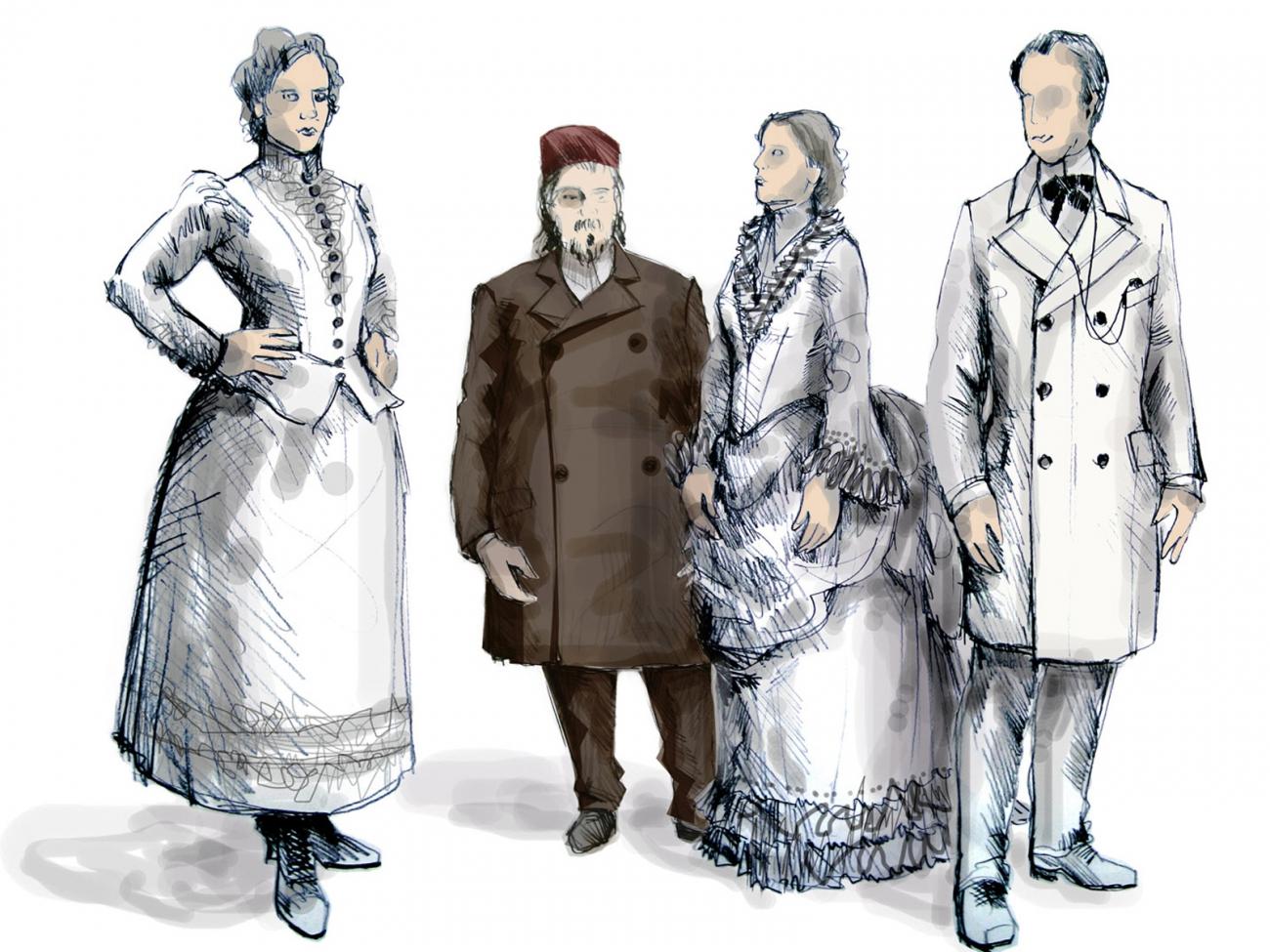 Kostueme-Costumes-Costumedesign- Bernhard Duss